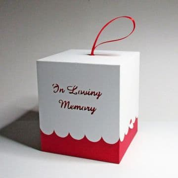 80mm Memorial Box for Round Baubles