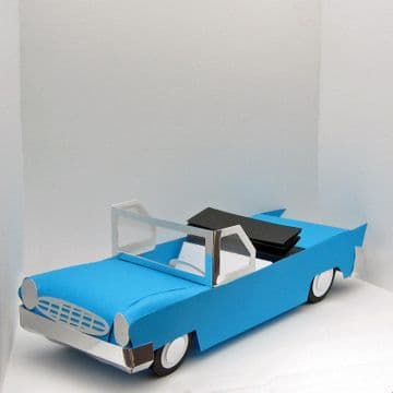 American Style 1950's Car Template