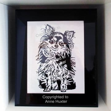Chihuahua Long Haired Dog Design