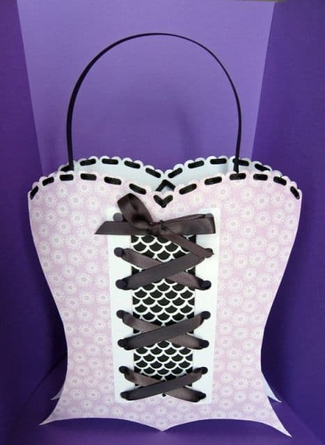 Corset Bag Template