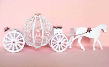 Fairytale Horse and Carriage Template