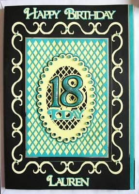 Fancy Frames Layered Card Topper Templates