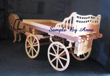 Horse and Cart Template