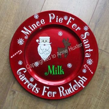 Mince Pie For Santa & Cookies For Santa Template