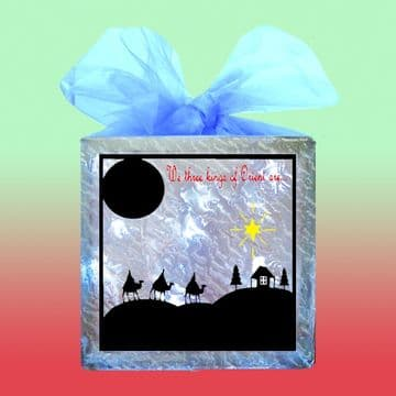 We Three Kings Vinyl Template