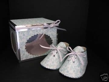 Baby Shoes & Box Templates