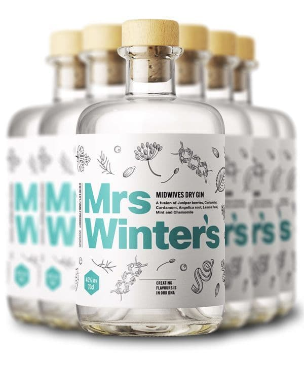 Mrs Winter's Dry Gin - Six Bottles