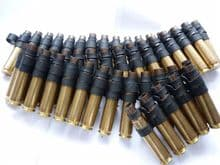 20 linked inert  0.50 cal cartridge cases **OUT OF STOCK**