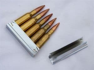7.62mm Mosin-Nagant 5-round stripper clip only **OUT OF STOCK**