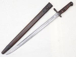 American Remington made Pattern 1913 bayonet and scabbard, dated 1916  **SOLD**