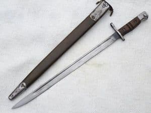 American Winchester made Pattern 1913 bayonet and scabbard, dated 1916 SOLD