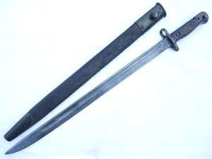 British Pattern 1907 Wilkinson made bayonet and scabbard dated 1916  **SOLD**