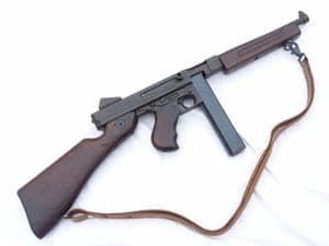 Deactivated American Thompson M1A1 .45 cal smg c/w sling  **SOLD**