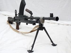 Deactivated British Bren Mk3 Enfield made 1949 dated, matching serial numbers  **SOLD**