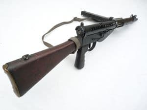 Deactivated British Sten mk5 9mm smg, sliding bolt and cocking handle, matching s/numbers **SOLD**