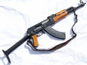 Deactivated Chinese Type 56-1 assault rifle with under-folding stock, early-spec deact SOLD