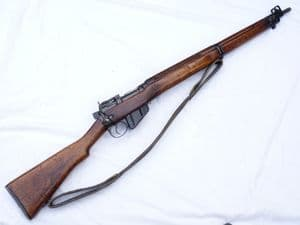 Deactivated Lee-Enfield no4 mk1*rifle 1943 dated Savage made  **SOLD**