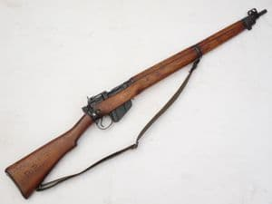 Deactivated Lee-Enfield No4 mk1* rifle, Long Branch made, dated 1942 **SOLD**