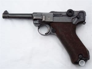 Deactivated Luger P08 9mm Mauser made pistol 1942 dated SOLD