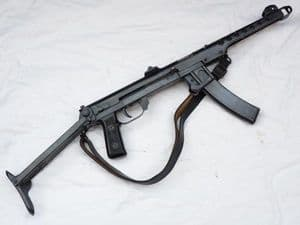 Deactivated Polish PPS-43 sub-machine gun 1953 dated SOLD
