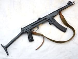 Deactivated Russian PPS-43 sub machine-gun 1943 dated, sliding cocking handle SOLD