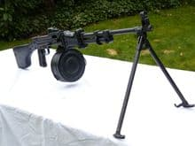 Deactivated Russian RPD 7.62 cal m44 light machine gun SOLD