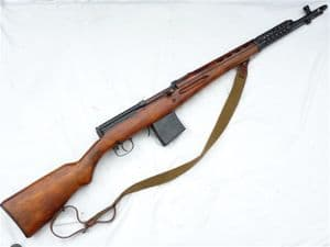 Deactivated Tokarev AVT-40 fully-automatic assault rifle 1942 dated SOLD