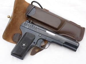Deactivated Tokarev TT33 Russian made automatic pistol 1945 dated  **SOLD**