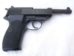 Deactivated Walther P1 9mm automatic pistol 1976 dated  **SOLD**