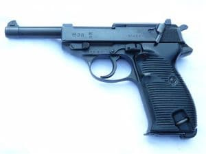 Deactivated Walther P38 pistol 1941 dated Walther made SOLD