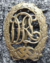 DRL  Sports Badge In Bronze **SOLD**