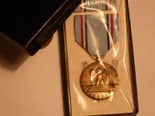 USA Good Conduct Medal, Air Force, boxed set