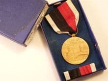 WW2 USA Army of Occupation Medal with ribbon bar in box of issue **SOLD**