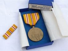 WW2 USA Asiatic-Pacific Campaign Medal boxed set