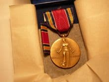 WW2 USA Victory Medal boxed set unissued **SOLD**