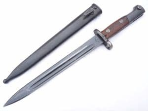 Yugoslavian M1948 bayonet and scabbard, matching serial numbers.  **SOLD**