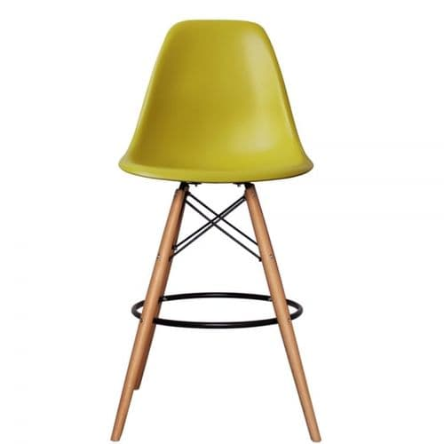 MOF Eames Style DSW  Bar Stool (Available in 14 Colours)