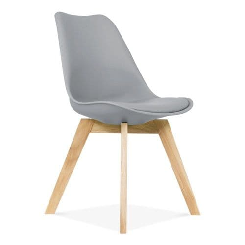 MOF Tulip Pyramid Dining Chairs (More colours available)