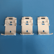 PACK OF 3 ROMAN BLIND EXTENSION SPRING BRACKETS
