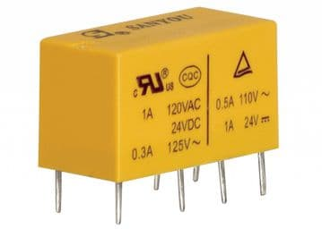 24V Miniature Power Relay DSY2Y-S-224L