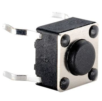 6 mm x 6mm Tactile Switch 4.3mm Plunger Length (KR88) AB-TS-004