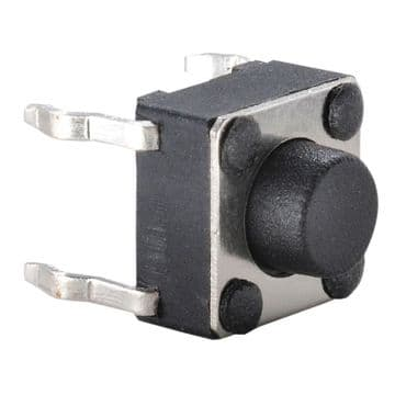 6mm x 6 mm Tactile Switch 5.0mm Plunger Length (KR89) AB-TS-005