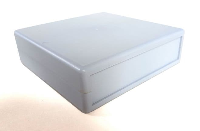 ABS Instrument Case without vents 129mm x 129mm x 40mm (PM2 GREY)