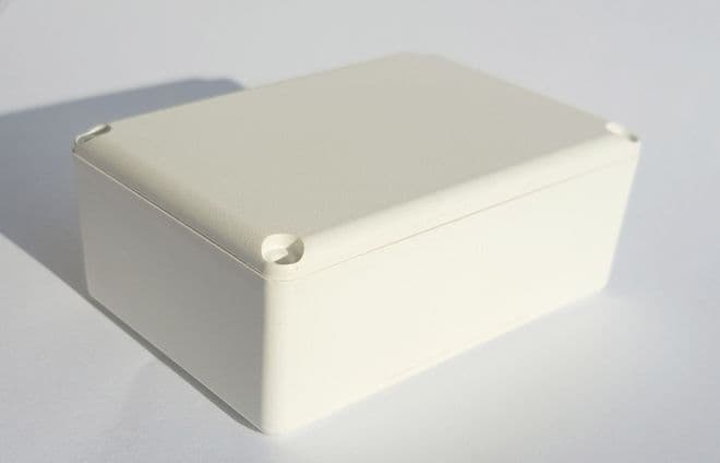ABS Small Project Box: 40mm x 28mm x 18mm (MDRX2006 WHITE)