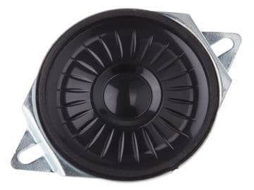Miniature Mylar Speaker, 8ohm, 0.5W, 40mm with Mounting Flanges (ABS-234-RC)