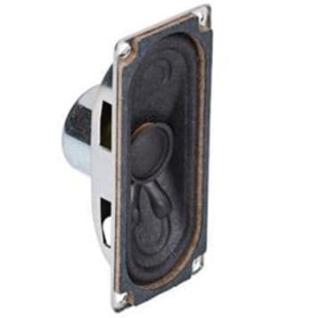 Miniature Rectangular Speaker, 8ohm, 2W, 70x30mm (ABS-235-RC)