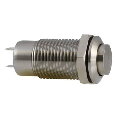 Stainless Steel 12mm IP40 Anti-Vandal Switch, Latching (A07YT) AB-AV-1215