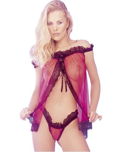 Babydoll and G-String (Classified BD461)