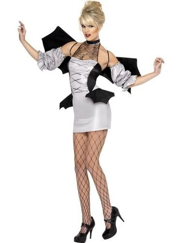 Bat Vamp - Sexy Fancy Dress (Smiffys 35658)
