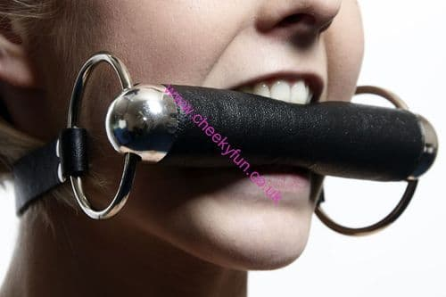 Bit Gag - Rubber and Steel